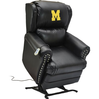 Power Lift Assist Recliner College Team: University of Michigan
