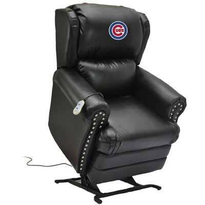 Baseball Power Lift Assist Recliner MLB Team: Chicago Cubs