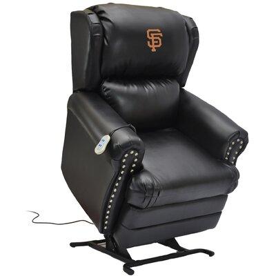 Baseball Power Lift Assist Recliner MLB Team: San Francisco Giants