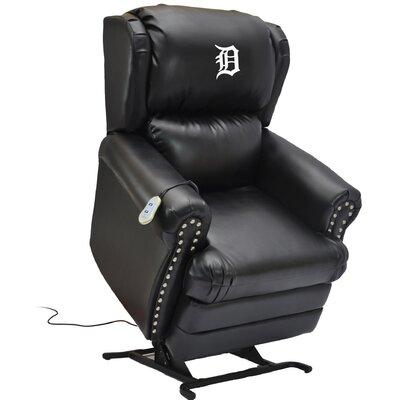 Baseball Power Lift Assist Recliner MLB Team: Detroit Tigers
