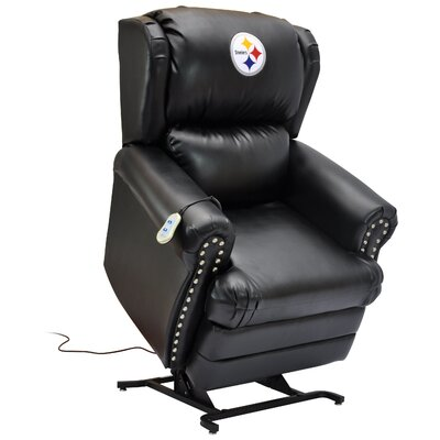 Football Power Lift Assist Recliner NFL Team: Pittsburgh Steelers