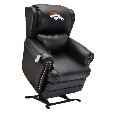 Football Power Lift Assist Recliner NFL Team: Denver Broncos