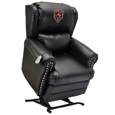 Football Power Lift Assist Recliner NFL Team: Chicago Bears