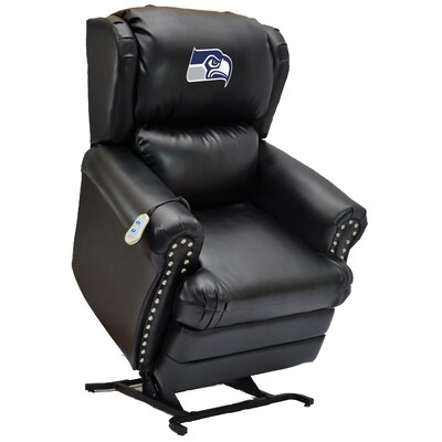 Football Power Lift Assist Recliner NFL Team: Seattle Seahawks