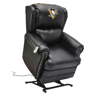 Hockey Power Lift Assist Recliner NHL Team: Pittsburgh Penguins�