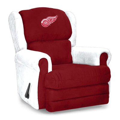 Coach Microfiber Recliner NHL Team: Detroit Red Wings�