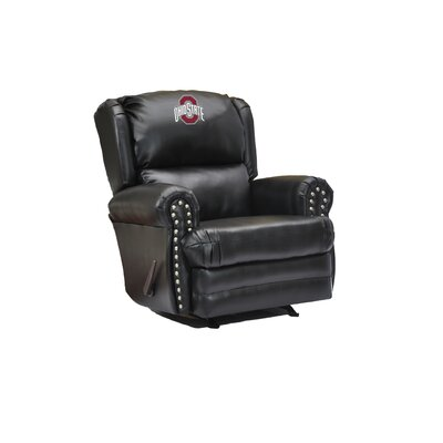 Leather Recliner College Team: Ohio State