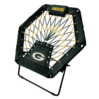 Premium Bungee Side Chair NFL Team: Green Bay Packers