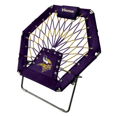 Premium Bungee Side Chair NFL Team: Minnesota Vikings