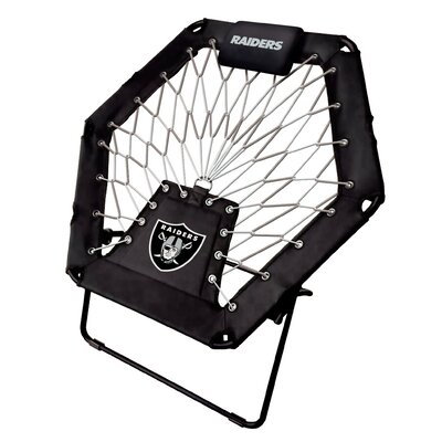 Premium Bungee Side Chair NFL Team: Oakland Raiders