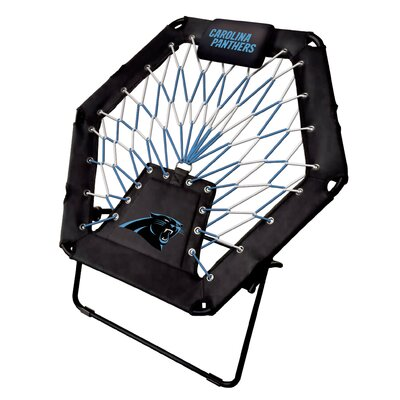 Premium Bungee Side Chair NFL Team: Carolina Panthers