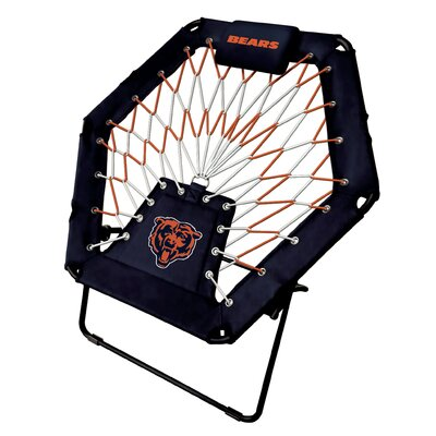 Premium Bungee Side Chair NFL Team: Chicago Bears