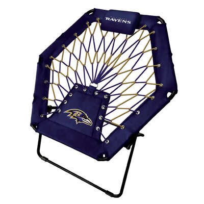 Premium Bungee Side Chair NFL Team: Baltimore Ravens