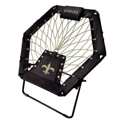 Premium Bungee Side Chair NFL Team: New Orleans Saints
