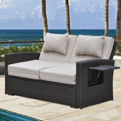 Betts Outdoor Loveseat with Cushions