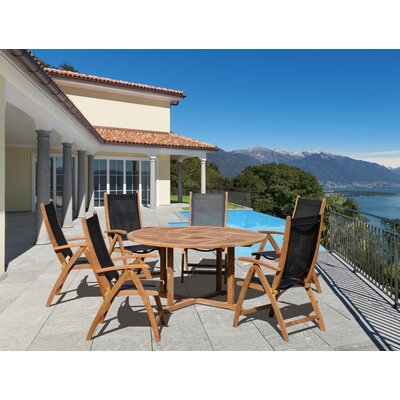 Information about Wood Dining Set Product Photo