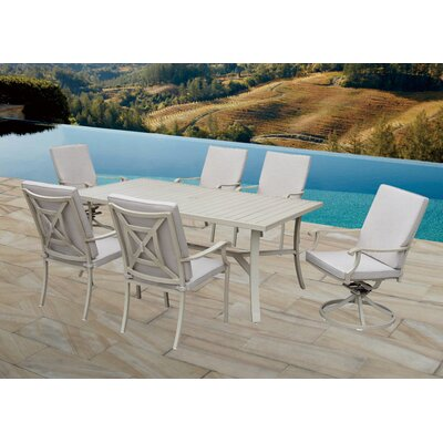 Caressa 7 Piece Dining Set