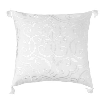 Amery Medallion 100% Linen Throw Pillow