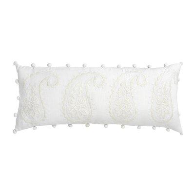Amery Paisley 100% Linen Bolster Pillow