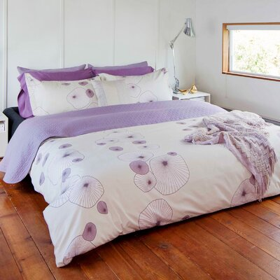 Arias Duvet Cover Size: Queen