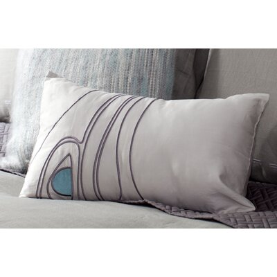 Mckee Bird Toss 100% Cotton Lumbar Pillow