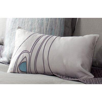 Mckee Bird Toss 100% Cotton Lumbar Pillow