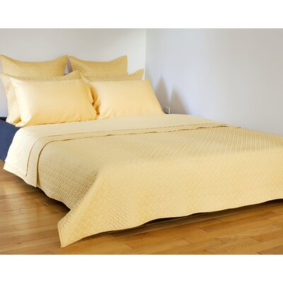 Lapointe Coverlet Size: King, Color: Cornsilk
