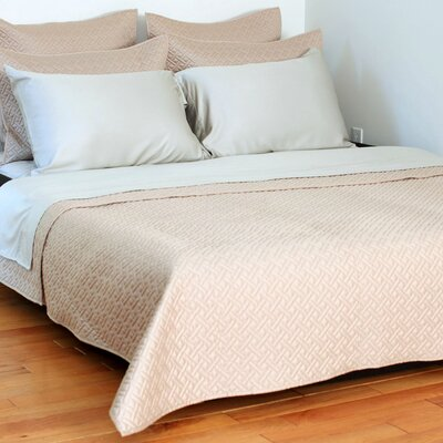 Lapointe Coverlet Size: Queen, Color: Doeskin