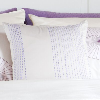 Moyer Stitching Toss 100% Cotton Throw Pillow
