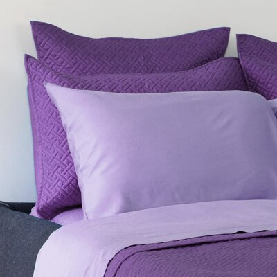 Lapointe Sham Size: Euro, Color: Purple