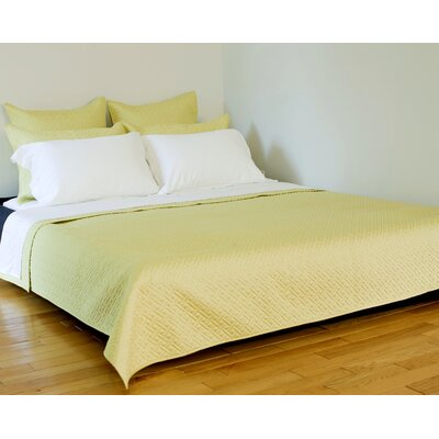Lapointe Coverlet Size: Queen, Color: Celery