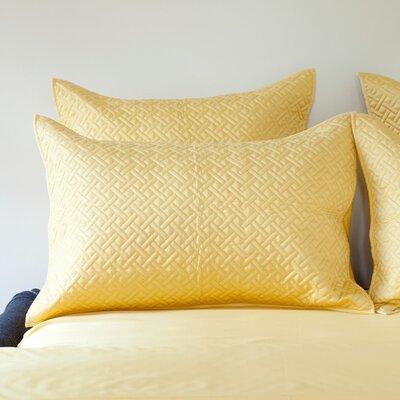 Lapointe Sham Color: Cornsilk, Size: Queen