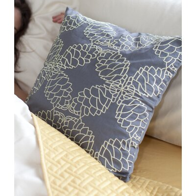 Cleta Pine Cone Toss 100% Cotton Throw Pillow Color: Celery/Pewter