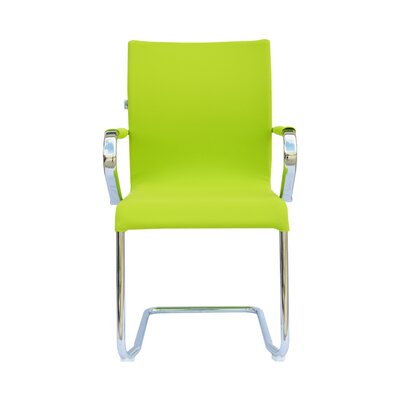 Sharran Upholstered Guest Chair (Set of 2) Color: Green