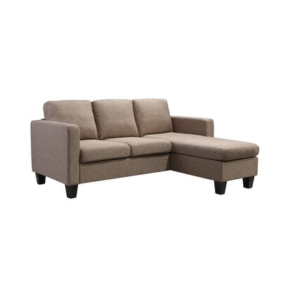 Kinnect Sectional Collection Upholstery: Sand
