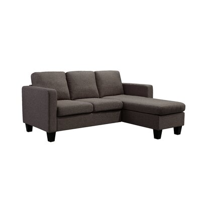 Kinnect Sectional Collection Upholstery: Bark