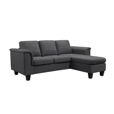 Kinnect Sectional Collection Upholstery: Slate