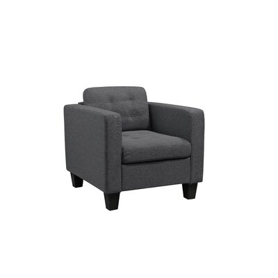 Kinnect Madison Armchair Upholstery: Slate