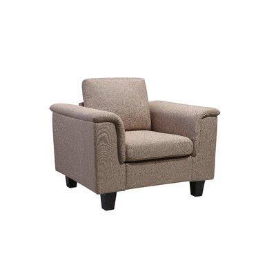 Kinnect York Armchair Upholstery: Sand