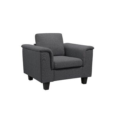 Kinnect York Armchair Upholstery: Slate