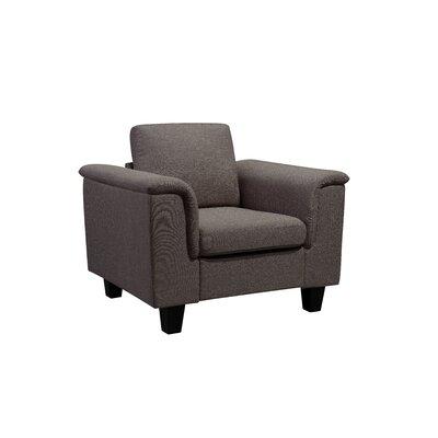 Kinnect York Armchair Upholstery: Bark