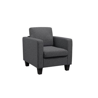 Kinnect Park Armchair Upholstery: Slate