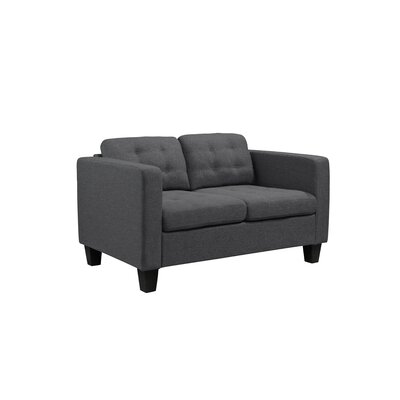 Kinnect Madison Loveseat Upholstery: Slate