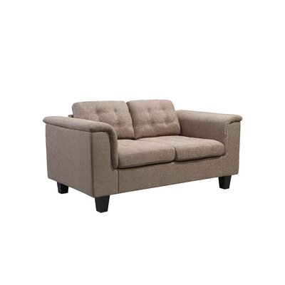 Kinnect Lexington Loveseat Upholstery: Sand