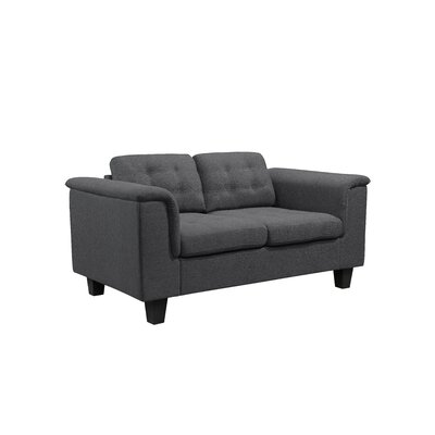 Kinnect Lexington Loveseat Upholstery: Slate