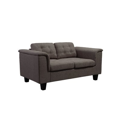 Kinnect Lexington Loveseat Upholstery: Bark