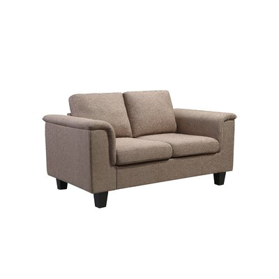 Kinnect York Loveseat Upholstery: Sand