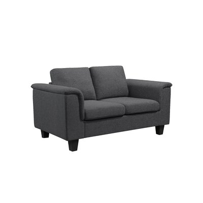 Kinnect York Loveseat Upholstery: Slate