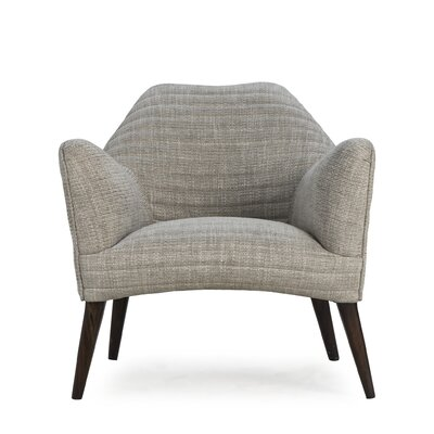 Milo Armchair Upholstery: Vadit Dark Gray