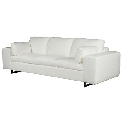 Ian Sofa Upholstery: Marbella Optic White